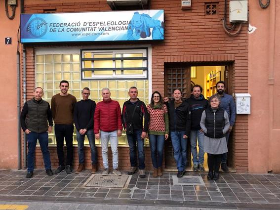 Junta Directiva Espeleo FECV 2019